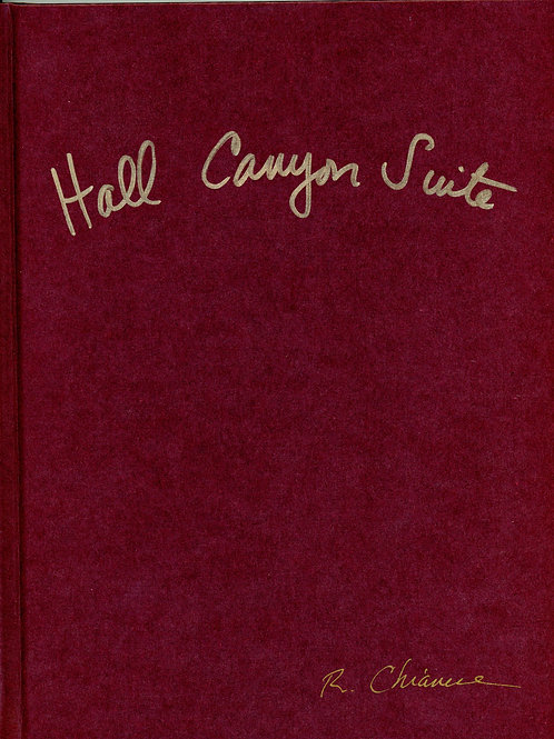 Hall Canyon Suite: Original Pages from ART/LIFE in Hardbound Limited Edition