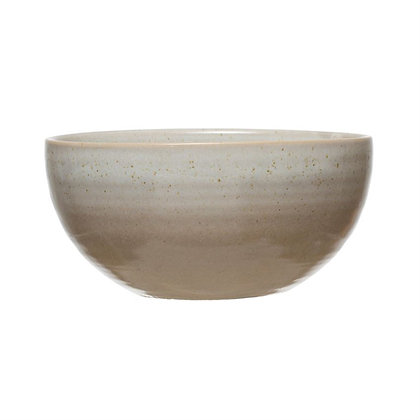 Bone Stoneware Bowl
