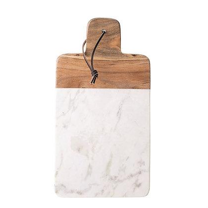 Marble + Mango Wood Board