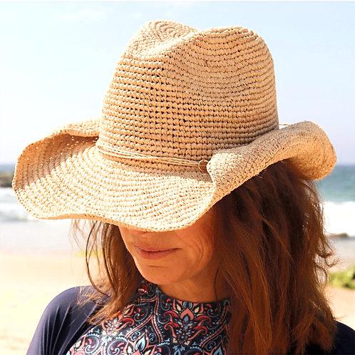Cowboy Beach Hat - Natural