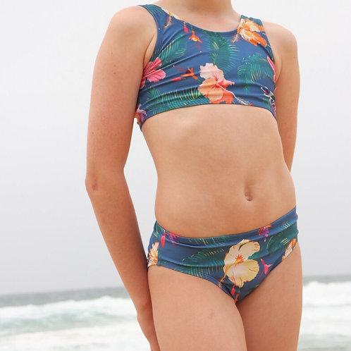Shoal Girls Bikini bottoms in Daydream