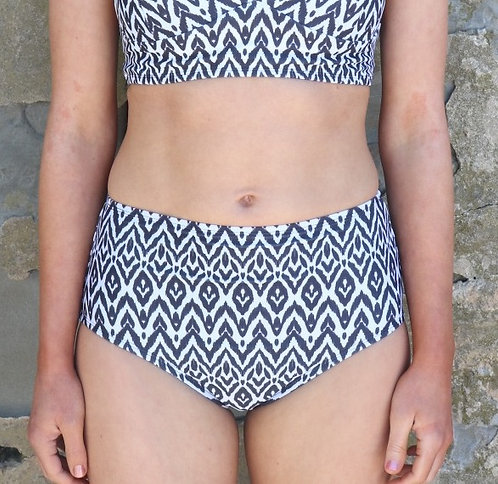 Pacific High Tide Bikini Bottoms in Tribal