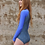Shy Skin Dixon UPF 50+ Long Sleeve Swimsuit in Royal Universe