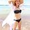 Shy Skin Loretta Beach Coverup and Raffia Wide Brim Hat