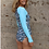 Shy Skin Dixon UPF 50+ Long Sleeve Swimsuit in Swell