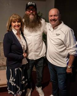 Doc and Teresa Merritt with Crowder