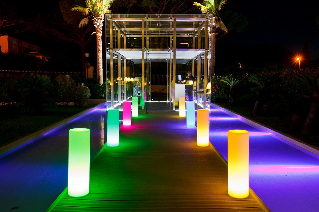 LED Patio Decor