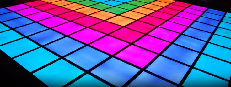 HJ8800A LED Dance Floor