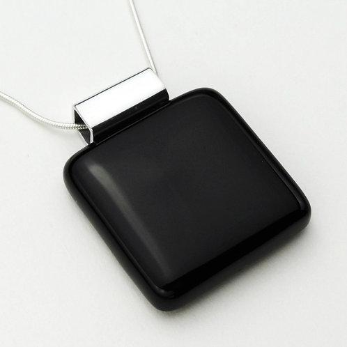 Colección BASIK Colgante en Vidrio Negro Opal