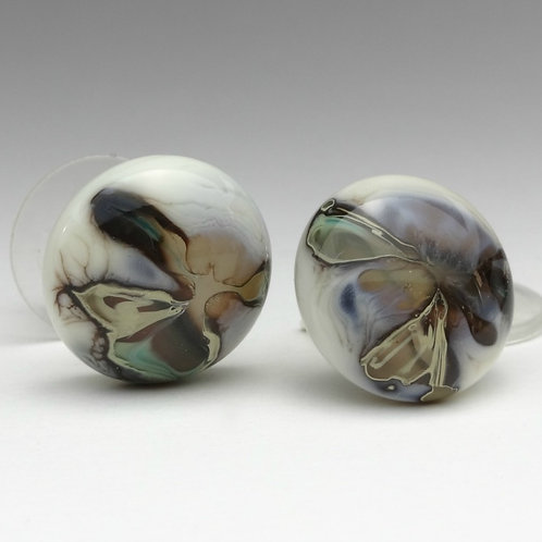Colección Nature Pendientes en Vidrio Murano