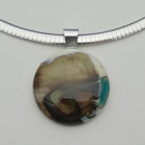 Colección Nature - Colgante en Vidrio Murano