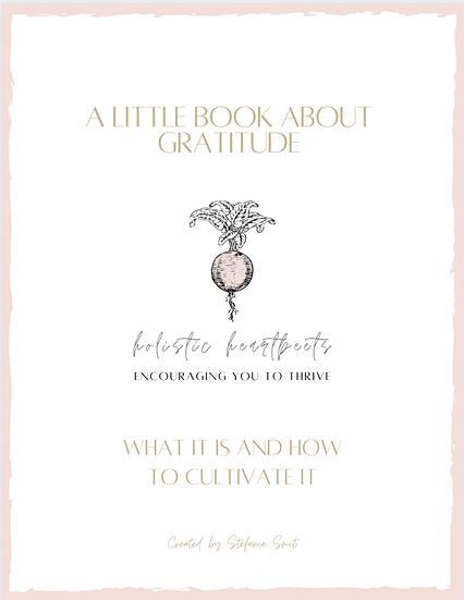 A Little Book About Gratitude
