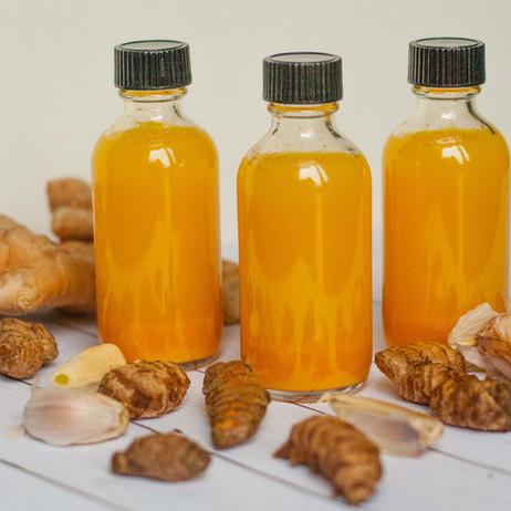 Turmeric Ginger Shots