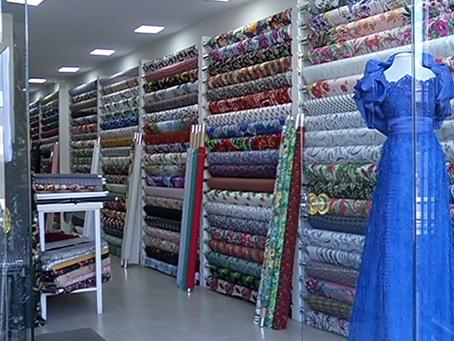 GDF autorizou a reabertura de lojas de tecidos, armarinhos e cine drive-in