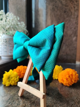 Ocean Sky Double Bow-Tie with a Strap