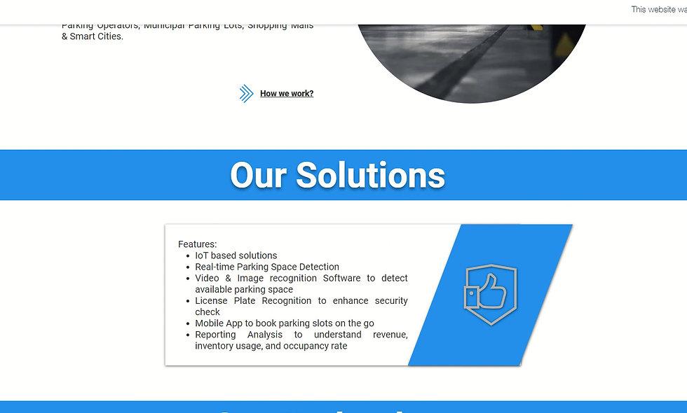 Parking Business Solutions - V1