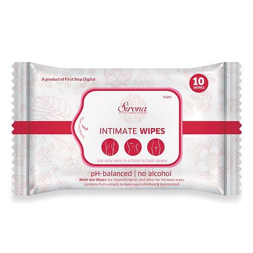 Sirona Intimate Wet Wipes