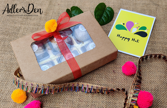Signature Paan Truffles Gift Box For Holi