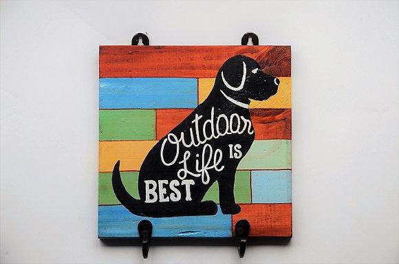 Outdoor Life Leash Holder