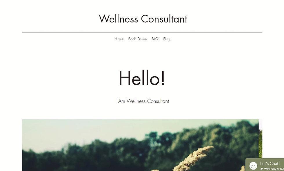 Wellness Consultant