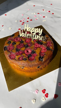 Mixed Berry Tea Cake