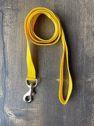 Yellow Nylon Leash