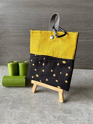Black and Yellow - Poop Bag Dispenser
