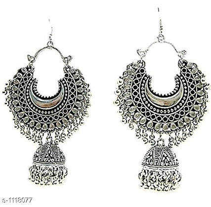 Hanging Ear Ring (Silver)