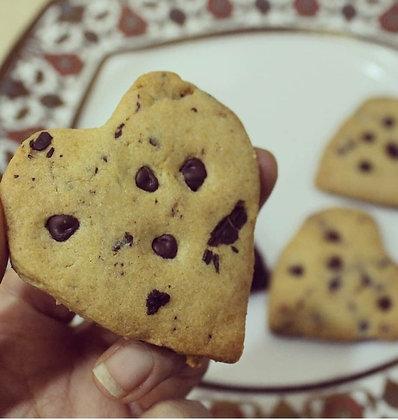 Gluten Free Heart Shaped Cookies