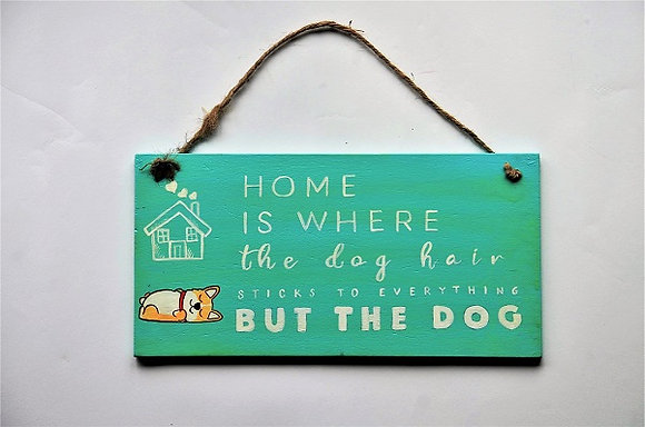 What is home? Wooden Placard
