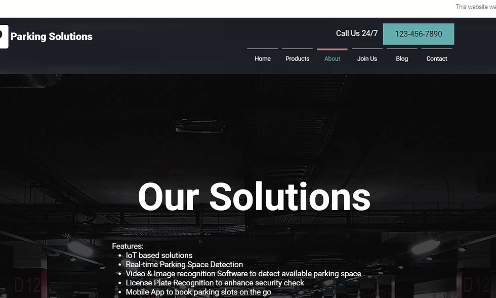 Parking Business Solutions - V2