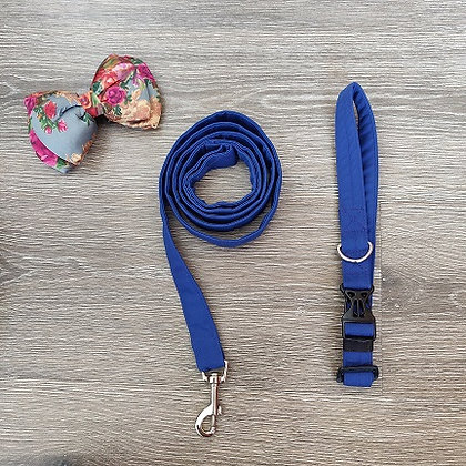 Collar and Leash set with a Bow Tie