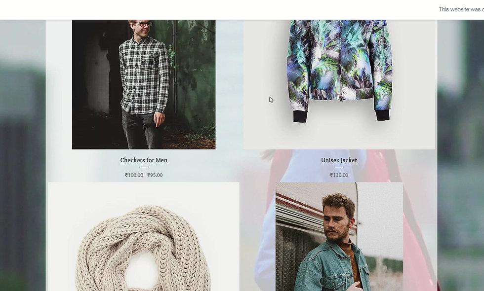 Designer Clothes Store