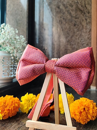 Evening Hue – Double Bow-Tie with a Strap