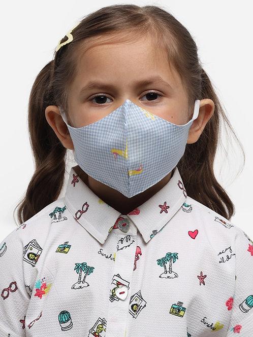 Kids Yellow Duck 2-Ply Reusable Cloth Mask