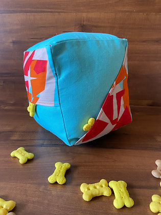 Jamaican Teal Vibe - Cube Puzzle Toy