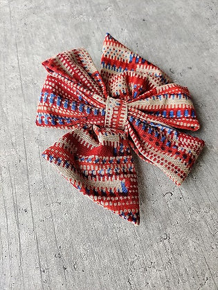 Orange Belle Bow-Tie