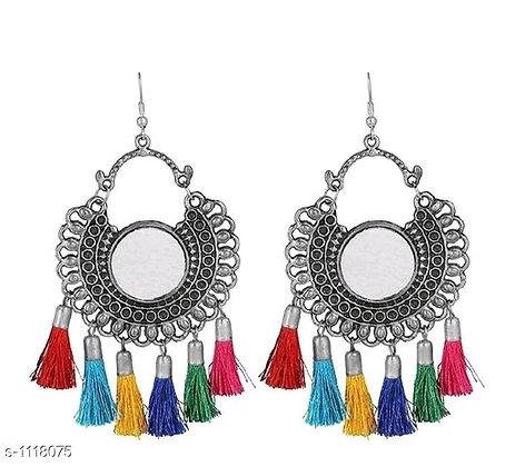 Hanging Ear Rings (Silver)
