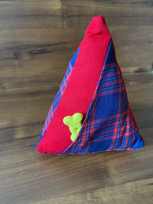 Check Me Out Red - Triangle Puzzle Toy