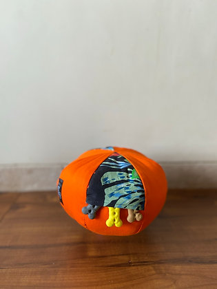 Tangerine Paradise - Orange Circle of Puzzle Toy