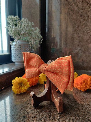 Sunset Mood Double Bow-Tie with a Strap