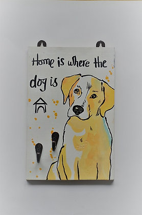 Home is where the Dog is - Leash Holder