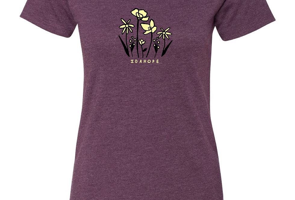 Fitted Wildflower Tee