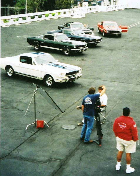 Tony at Petersen Museum - BJ Car Search