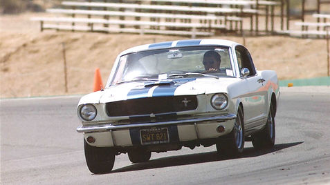 Tony's '65 Shelby at Big Willow Springs