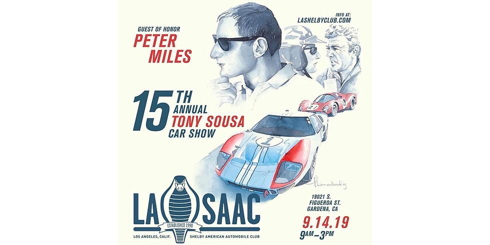 15th Annual Tony Sousa Memorial Car Show