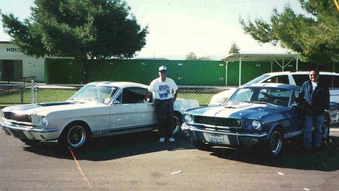 Tony's '65 Shelby  and Humberto's '66 Sh