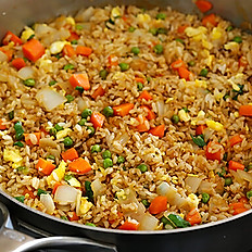 Fried Rice with an Entree