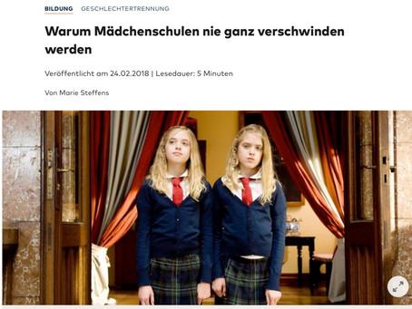 Warum Mädchenschulen nie ganz verschwinden werden