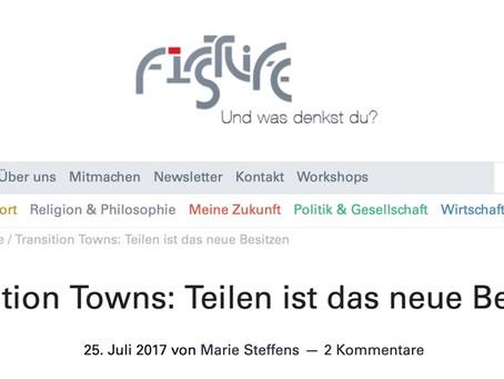 Transition Towns - Teilen ist das neue Besitzen